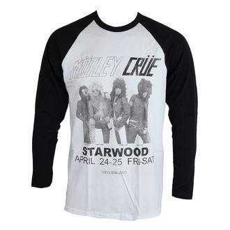 Herren Longsleeve Mötley Crüe - Starwood Flyer 1981 - ROCK OFF, ROCK OFF, Mötley Crüe