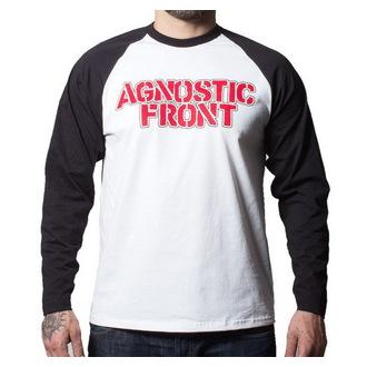 Herren Longsleeve Agnostic Front - Never Walk Alone - BUCKANEER - Black/White, Buckaneer, Agnostic Front