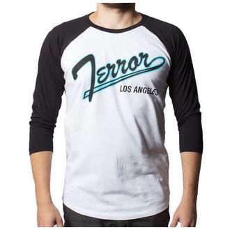 Herren 3/4-Arm Shirt Terror - Baseball - BUCKANEER - White/Black, Buckaneer, Terror