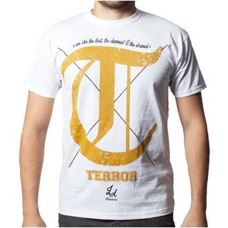 Herren T-Shirt Terror - Damned - BUCKANEER - White, Buckaneer, Terror