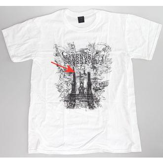 Herren T-Shirt  Avenged Sevenfold - Land Of Kain - ROCK OFF - BESCHÄDIGT, ROCK OFF, Avenged Sevenfold
