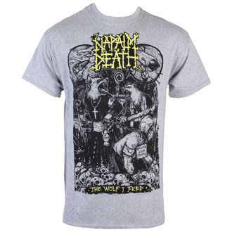 Herren T-Shirt  Napalm Death - Wolf - RAGEWEAR, RAGEWEAR, Napalm Death