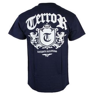 Herren T-Shirt  Terror - Lion Crest - Navy blue - RAGEWEAR, RAGEWEAR, Terror