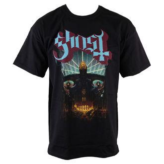 Herren T-Shirt  Ghost - Meliora - Blk - ROCK OFF, ROCK OFF, Ghost