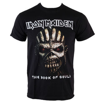 Herren T-Shirt Iron Maiden - Book Of Souls - BLK - ROCK OFF - IMTEE44MB