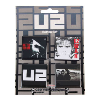 Button U2, C&D VISIONARY, U2