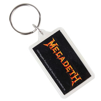 Schlüsselanhänger Megadeth - Logo, C&D VISIONARY, Megadeth