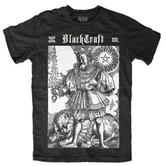 Herren T-Shirt  BLACK CRAFT - Fire Sword - Black
