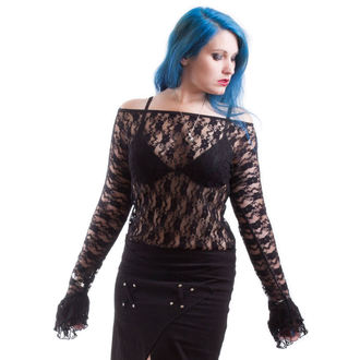 Frauen Langarmshirt NECESSARY EVIL - Ziva - Black, NECESSARY EVIL