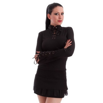 Damen Langarmshirt  NECESSARY EVIL - Milisha - Black, MILISHA