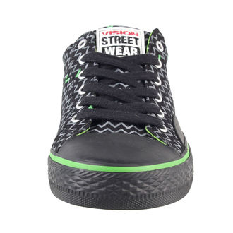 Damenschuhe VISION - Canvas Lo - Black/Lime, VISION