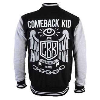 Herren Hoodie  Baseball - Comeback Kid - Wachsam Eye - VICTORY, VICTORY RECORDS, Comeback Kid