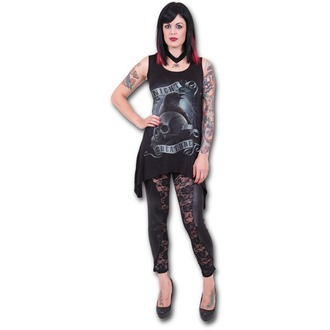 Frauenkleidung (Top) SPIRAL - Night Creature - Black