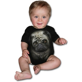 Baby Body  SPIRAL - Pug Life - Black, SPIRAL