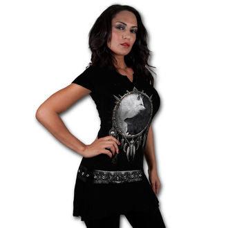 Frauenkleidung SPIRAL - Wolf Chi - Black, SPIRAL