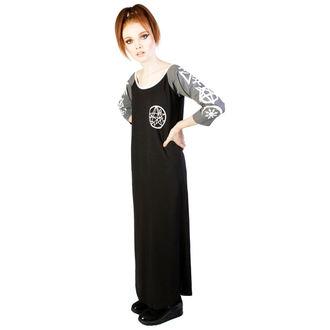 Damen Kleid DISTURBIA - Necronomicon - Black/Grey, DISTURBIA