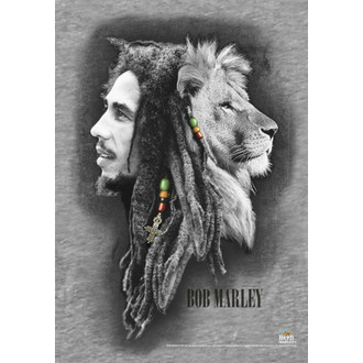 Fahne Bob Marley - Profiles, HEART ROCK, Bob Marley