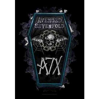 Fahne Avenged Sevenfold - Coffin, HEART ROCK, Avenged Sevenfold