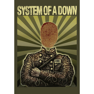 Fahne System Of A Down - Soldier, HEART ROCK, System of a Down