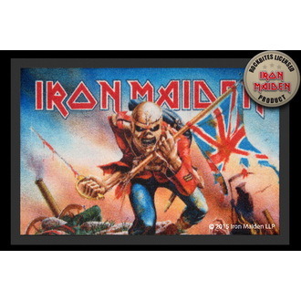 Fußmatte Iron Maiden - Trooper - ROCKBITES, Rockbites, Iron Maiden
