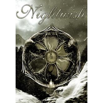 Fahne Nightwish - Emblem, HEART ROCK, Nightwish