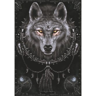 Fahne Spiral Collection - Wolf Dreams, SPIRAL