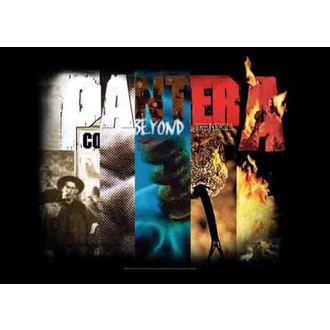 Fahne Pantera - Album Collage, HEART ROCK, Pantera