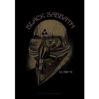 Fahne Black Sabbath - US Tour 78, HEART ROCK, Black Sabbath