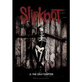 Fahne Slipknot - The Gray Chapter , HEART ROCK, Slipknot