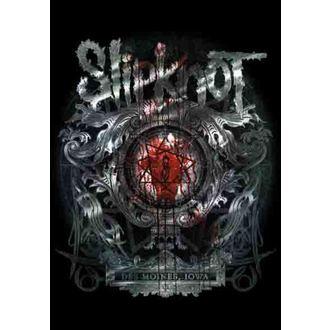 Fahne Slipknot - Des Moines, HEART ROCK, Slipknot