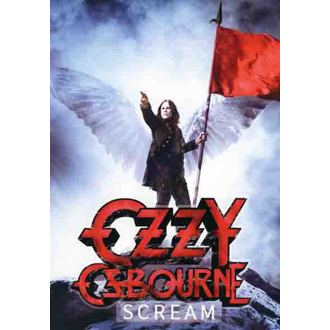 Fahne Ozzy Osbourne - Scream, HEART ROCK, Ozzy Osbourne