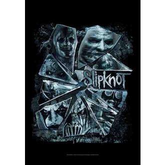 Fahne Slipknot - Broken Glass, HEART ROCK, Slipknot