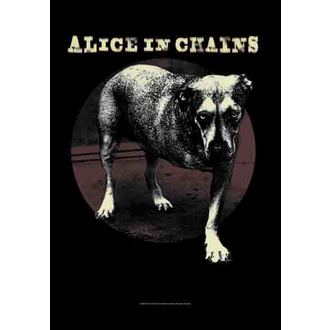 Fahne Alice In Chains - Grin, HEART ROCK, Alice In Chains