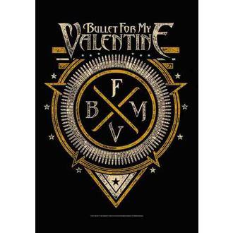 Fahne Bullet For My Valentine - Emblem, HEART ROCK, Bullet For my Valentine
