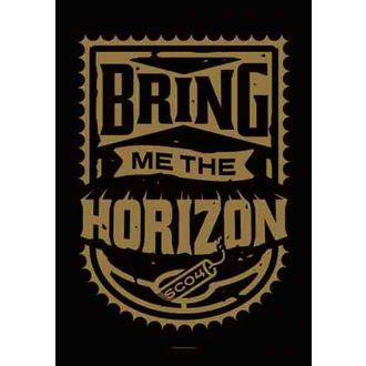 Fahne Bring Me The Horizon - Dynamite Shield, HEART ROCK, Bring Me The Horizon
