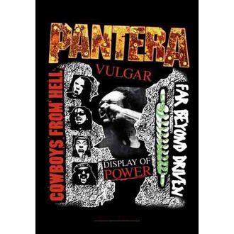Fahne Pantera - 3 Albums, HEART ROCK, Pantera
