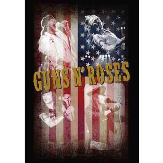 Fahne Guns N'Roses - Collage, HEART ROCK, Guns N' Roses