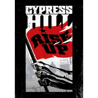 Fahne Cypress Hill - Rise Up, HEART ROCK, Cypress Hill