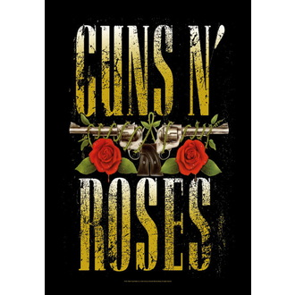 Fahne Guns N'Roses - Big Guns, HEART ROCK, Guns N' Roses