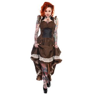 Frauenkleidung BANNED - Brown Stripe - DBN505