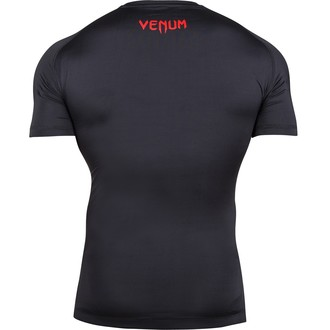 Herren T-Shirt  (Thermo) VENUM - Contender Compression - Red Devil, VENUM