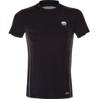 Herren T-Shirt  (Thermo) VENUM - Contender Dry Tech - Black/Ice, VENUM