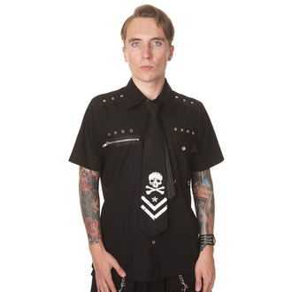 Herren Krawatte  DEAD THREADS  - Black, DEAD THREADS