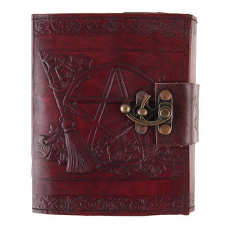 Notizblock Pentagram Leather Emboss Journal, NNM
