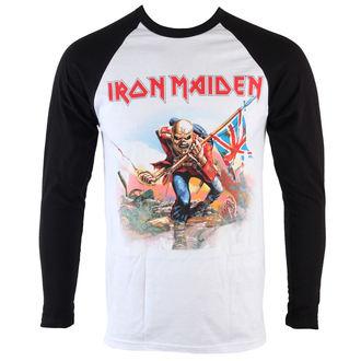 Herren Langamrshirt Iron Maiden - Trooper  - ROCK OFF, ROCK OFF, Iron Maiden