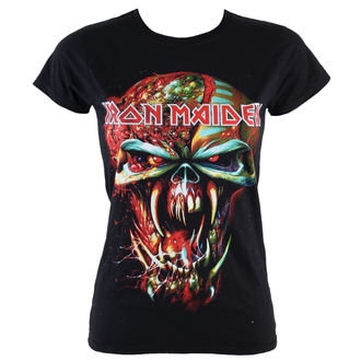 Damen T-Shirt  Iron Maiden - Final Frontier Eddie - ROCK OFF, ROCK OFF, Iron Maiden