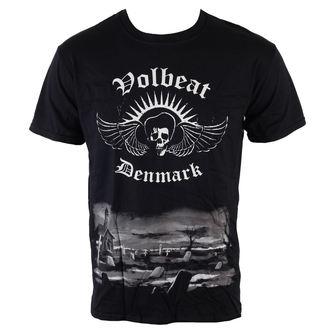 Herren T-Shirt  Volbeat - Graveyard - ROCK OFF, ROCK OFF, Volbeat