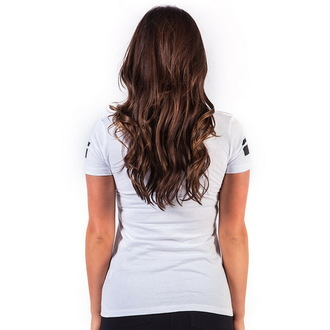 Damen T-Shirt  FAMOUS STARS & STRAPS - Death Squad - White, FAMOUS STARS & STRAPS