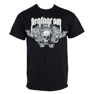 Herren T-Shirt  Pentagram - Skull - RAZAMATAZ, RAZAMATAZ, Pentagram