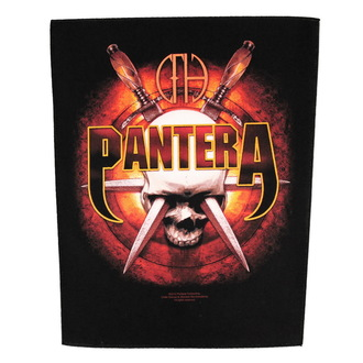 Großer Aufnäher     Pantera - Skull Knives - RAZAMATAZ, RAZAMATAZ, Pantera